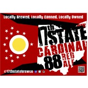 17th State Cardinal 88 Red Ale